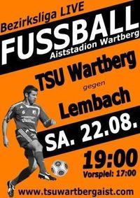 Tsu Wartberg Aist - Lembach@Aiststadion