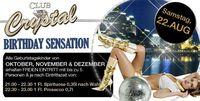 Birthday Sensation - Club Crystal