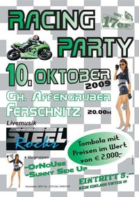 Racing Party@Kirchenwirt Affengruber