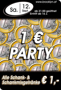 1 Euro Party@Brooklyn
