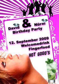 David und Nürni Birthday Party@Three - The Bar