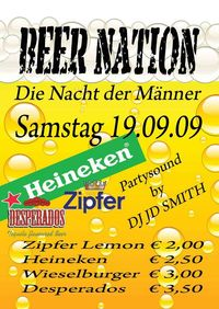 Beer nation - Die Nacht der Männer@Three - The Bar