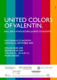 Ball der Katholischen Jugend - United Colors of Valentin@Kulturhaus St.Valentin