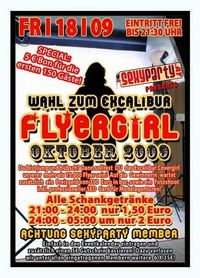Wahl zum Excalibur Flyergirl Oktober 2009@Excalibur