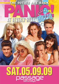 PANIC! At Beverly Hills 90210 @Babenberger Passage