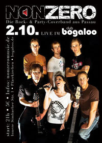 Nonzero live im Bogaloo@Club Bogaloo