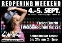 ReOpening Till am Freitag