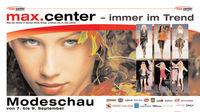 max.center Modeschau-Tage@max.center