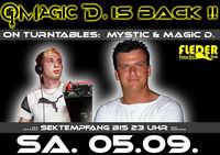 Magic D. is back !