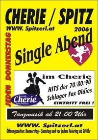 Single Abend@Tanzcafe Cherie Spitz
