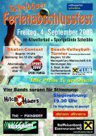 Scheibbser Ferienabschlussfest@Allwetterbad und Sportgelände