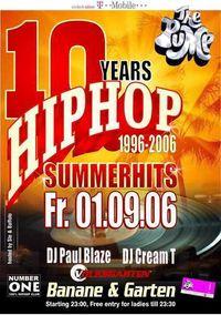 The Pump 10 Years Hip Hop