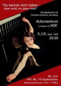 Musikkabarett @Kulturzentrum HOF