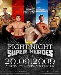 Fight Night - Super Heroes@Arsenal Objekt 221