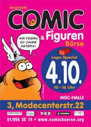 Wiener Comic und Figurenbörse@MGC-Hallen