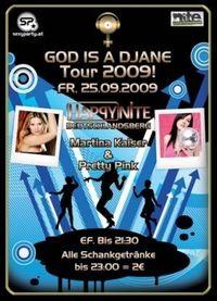 God is a DJane Tour 2009