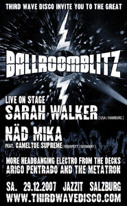 Third Wave Disco invites you to the great Ballroomblitz!