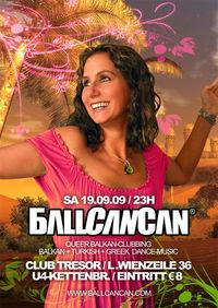 BallCanCan - Queer Balkan-Clubbing@Club Tresor (GESCHLOSSEN)