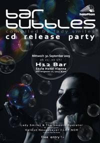 Bar Bubbles CD Release Party@H12 Bar / Style Hotel Vienna