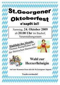 St.Georgener Oktoberfest@Veranstaltungsraum im Bauhof St.Georgen