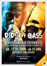 Didge & Bass - Opening Party