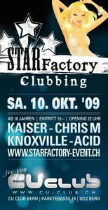Star Factory Clubbing@CU-Club ( Bern )