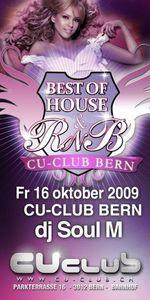 Best of House & R'n'B@CU-Club ( Bern )