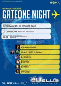 gateONE Night@CU-Club ( Bern )