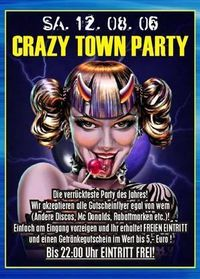 Crazy Town Party@Ballhaus Freilassing