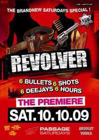 Revolver - The Brand New Passage Saturdays Special@Babenberger Passage