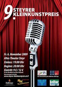 Steyrer Kleinkunstpreis 2009@Altes Theater Steyr