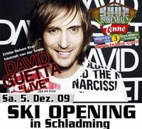 Skiopening mit David Guetta