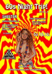 60s Night Trip!@Shelter