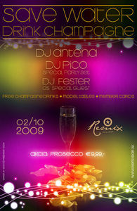 Save Water - Drink Champagne!@Remix - Club & Bar