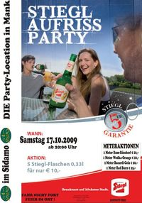 Stiegl Aufriss Party im Sidamo@Cafe Sidamo Mank