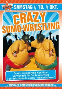 Crazy Sumo Wrestling@Bollwerk