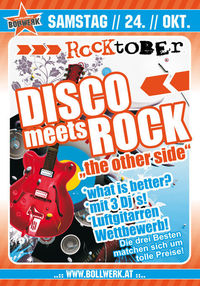 Disco meets Rock - The other Side@Bollwerk