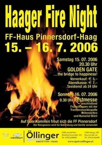 Haager Fire Night@FF-Haus Pinnersdorf