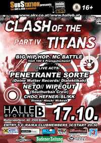 Clash of the Titans Part IV@Halle B