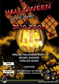 Halloween Grusel Shower