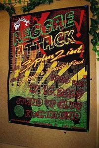 Reggae Attack@Standup Club