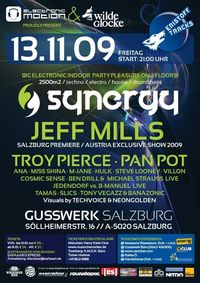 Synergy Indoor Festival with Jeff Mills & more