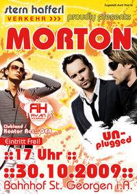 Morton unplugged / Dj Ryan Housewell@Bahnhof St. Georgen
