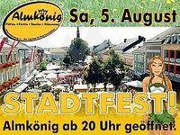 Stadfest@Almkönig