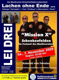 Lei Drei@Festsaal des Musikverein Schenkenfelden
