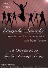 Danube Society presents The Finest in House Music@Saphire Club
