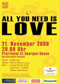 Rot-Kreuz-Ball - All you need is love@Pfarrheim St. Georgen/Gusen