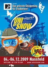DocLX & MTV: University of Snow - MTV Party@Nassfeld Kärnten