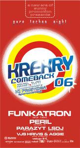 Pure techno night  KREKRY 06 ->COMEBACK@K1 Prievidza Športová  Hala