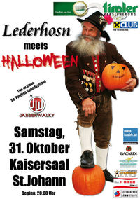 Lederhosn meets Halloween@Kaisersaal
